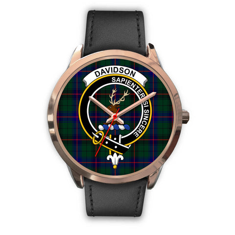 Davidson Modern, Black Metal Mesh Watch,  leather steel watch, tartan watch, tartan watches, clan watch, scotland watch, merry christmas, cyber Monday, halloween, black Friday