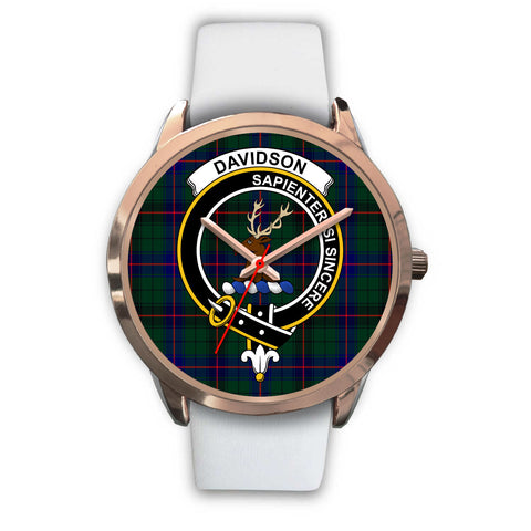 Davidson Modern, Black Metal Link Watch,  leather steel watch, tartan watch, tartan watches, clan watch, scotland watch, merry christmas, cyber Monday, halloween, black Friday