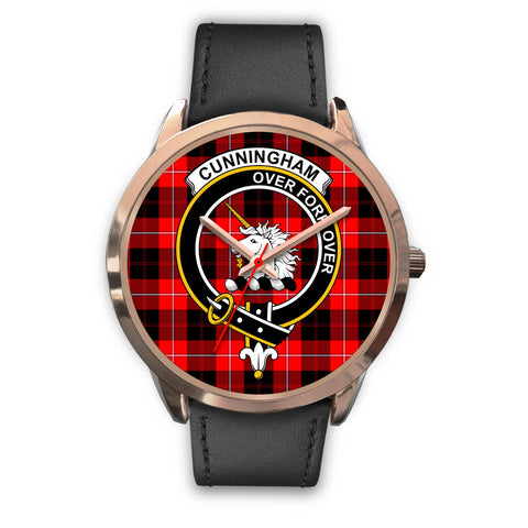 Image of Cunningham Modern, Black Metal Mesh Watch,  leather steel watch, tartan watch, tartan watches, clan watch, scotland watch, merry christmas, cyber Monday, halloween, black Friday