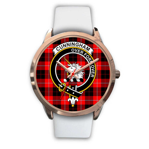 Image of Cunningham Modern, Black Metal Link Watch,  leather steel watch, tartan watch, tartan watches, clan watch, scotland watch, merry christmas, cyber Monday, halloween, black Friday
