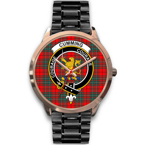 Cumming Modern, Rose Gold Metal Mesh Watch,  leather steel watch, tartan watch, tartan watches, clan watch, scotland watch, merry christmas, cyber Monday, halloween, black Friday