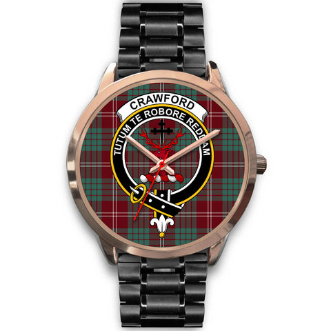 Crawford Modern, Rose Gold Metal Mesh Watch,  leather steel watch, tartan watch, tartan watches, clan watch, scotland watch, merry christmas, cyber Monday, halloween, black Friday