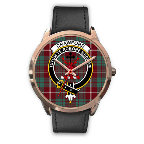 Crawford Modern, Black Metal Mesh Watch,  leather steel watch, tartan watch, tartan watches, clan watch, scotland watch, merry christmas, cyber Monday, halloween, black Friday