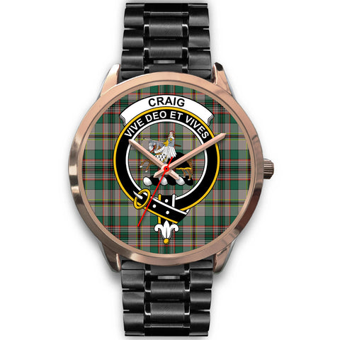 Craig Ancient, Rose Gold Metal Mesh Watch,  leather steel watch, tartan watch, tartan watches, clan watch, scotland watch, merry christmas, cyber Monday, halloween, black Friday
