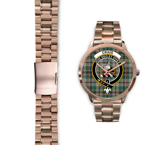 Craig Ancient, Black Leather Watch,  leather steel watch, tartan watch, tartan watches, clan watch, scotland watch, merry christmas, cyber Monday, halloween, black Friday