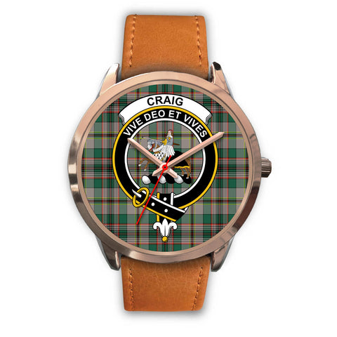 Craig Ancient, Pink Leather Watch,  leather steel watch, tartan watch, tartan watches, clan watch, scotland watch, merry christmas, cyber Monday, halloween, black Friday