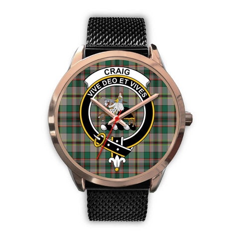 Craig Ancient, Silver Metal Link Watch,  leather steel watch, tartan watch, tartan watches, clan watch, scotland watch, merry christmas, cyber Monday, halloween, black Friday