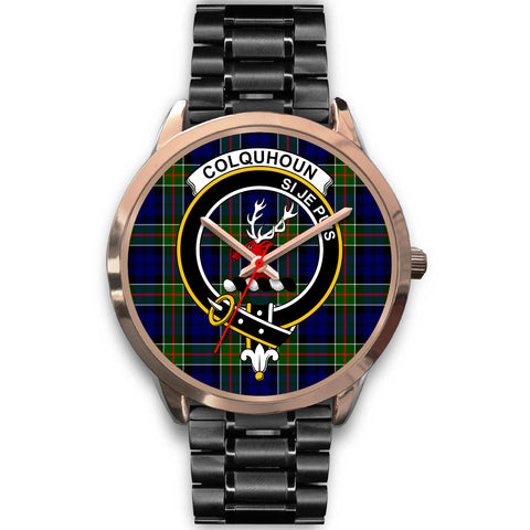 Colquhoun Modern, Rose Gold Metal Mesh Watch,  leather steel watch, tartan watch, tartan watches, clan watch, scotland watch, merry christmas, cyber Monday, halloween, black Friday
