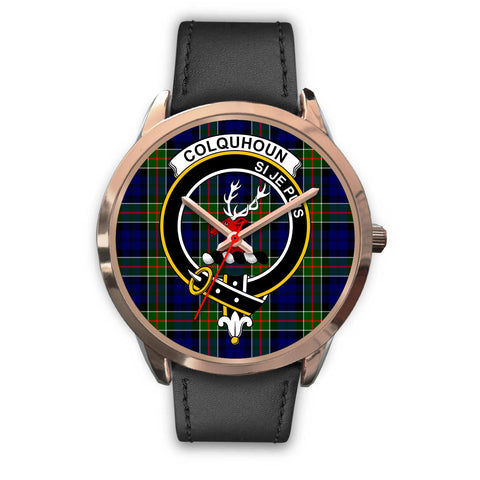 Colquhoun Modern, Black Metal Mesh Watch,  leather steel watch, tartan watch, tartan watches, clan watch, scotland watch, merry christmas, cyber Monday, halloween, black Friday