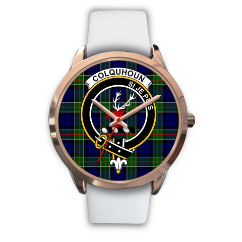 Colquhoun Modern, Black Metal Link Watch,  leather steel watch, tartan watch, tartan watches, clan watch, scotland watch, merry christmas, cyber Monday, halloween, black Friday