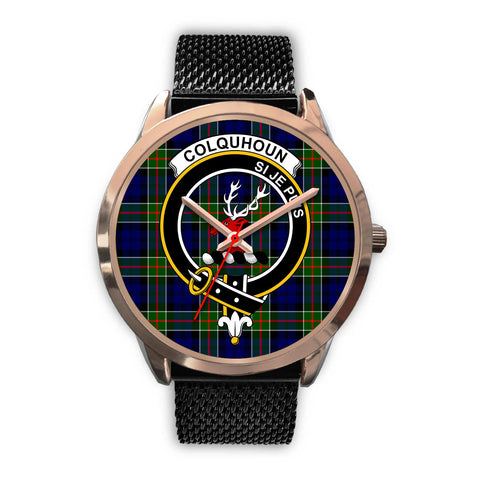 Colquhoun Modern, Silver Metal Link Watch,  leather steel watch, tartan watch, tartan watches, clan watch, scotland watch, merry christmas, cyber Monday, halloween, black Friday
