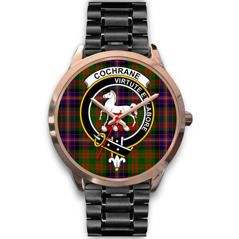 Cochrane Modern, Rose Gold Metal Mesh Watch,  leather steel watch, tartan watch, tartan watches, clan watch, scotland watch, merry christmas, cyber Monday, halloween, black Friday