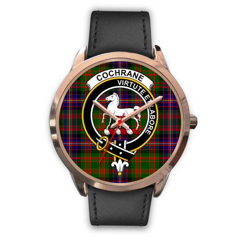Cochrane Modern, Black Metal Mesh Watch,  leather steel watch, tartan watch, tartan watches, clan watch, scotland watch, merry christmas, cyber Monday, halloween, black Friday