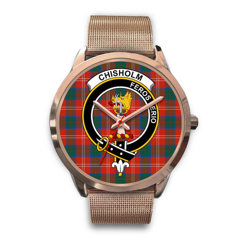 Chisholm Ancient, Black Leather Watch,  leather steel watch, tartan watch, tartan watches, clan watch, scotland watch, merry christmas, cyber Monday, halloween, black Friday