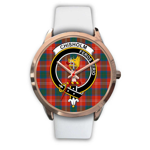 Chisholm Ancient, Black Metal Link Watch,  leather steel watch, tartan watch, tartan watches, clan watch, scotland watch, merry christmas, cyber Monday, halloween, black Friday