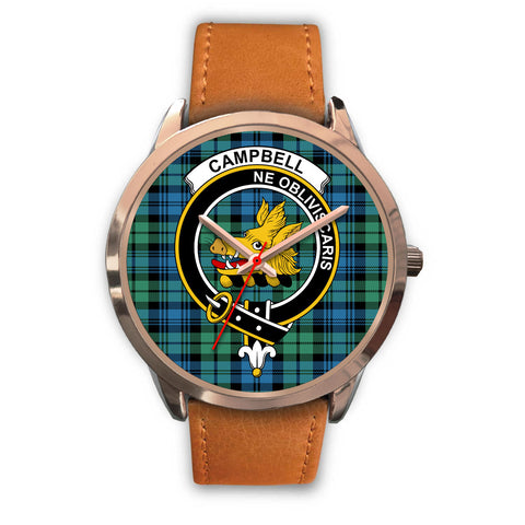 Campbell Ancient 01, Pink Leather Watch,  leather steel watch, tartan watch, tartan watches, clan watch, scotland watch, merry christmas, cyber Monday, halloween, black Friday
