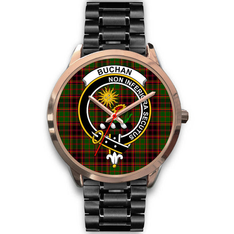 Buchan Modern, Rose Gold Metal Mesh Watch,  leather steel watch, tartan watch, tartan watches, clan watch, scotland watch, merry christmas, cyber Monday, halloween, black Friday