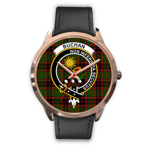 Buchan Modern, Black Metal Mesh Watch,  leather steel watch, tartan watch, tartan watches, clan watch, scotland watch, merry christmas, cyber Monday, halloween, black Friday