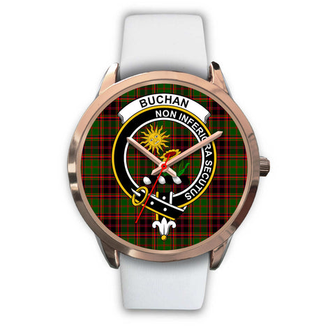 Buchan Modern, Black Metal Link Watch,  leather steel watch, tartan watch, tartan watches, clan watch, scotland watch, merry christmas, cyber Monday, halloween, black Friday