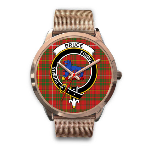 Bruce Modern, Black Leather Watch,  leather steel watch, tartan watch, tartan watches, clan watch, scotland watch, merry christmas, cyber Monday, halloween, black Friday