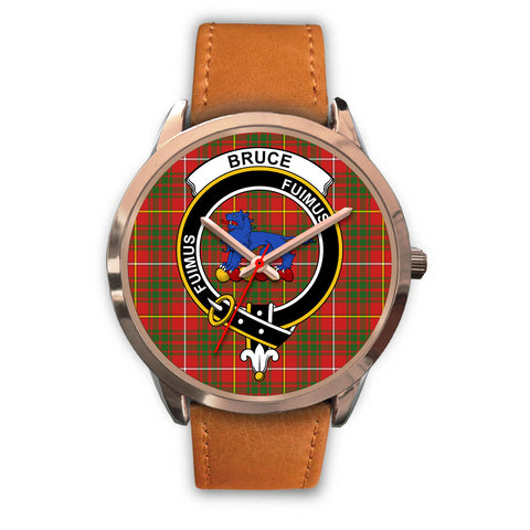 Bruce Modern, Pink Leather Watch,  leather steel watch, tartan watch, tartan watches, clan watch, scotland watch, merry christmas, cyber Monday, halloween, black Friday