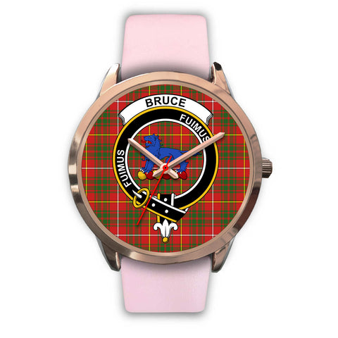 Image of Bruce Modern, Silver Metal Mesh Watch,  leather steel watch, tartan watch, tartan watches, clan watch, scotland watch, merry christmas, cyber Monday, halloween, black Friday