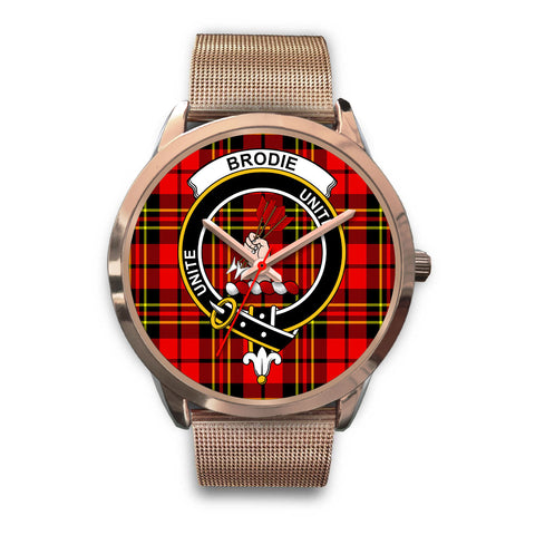 Brodie Modern, Black Leather Watch,  leather steel watch, tartan watch, tartan watches, clan watch, scotland watch, merry christmas, cyber Monday, halloween, black Friday