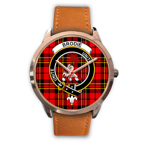Brodie Modern, Pink Leather Watch,  leather steel watch, tartan watch, tartan watches, clan watch, scotland watch, merry christmas, cyber Monday, halloween, black Friday