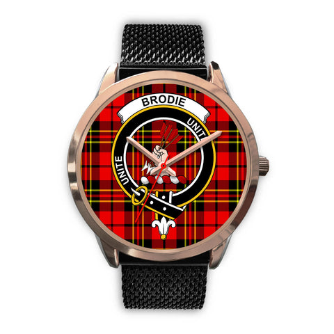 Brodie Modern, Silver Metal Link Watch,  leather steel watch, tartan watch, tartan watches, clan watch, scotland watch, merry christmas, cyber Monday, halloween, black Friday