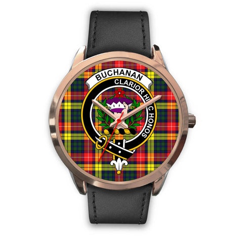 Image of Buchanan Modern, Black Metal Mesh Watch,  leather steel watch, tartan watch, tartan watches, clan watch, scotland watch, merry christmas, cyber Monday, halloween, black Friday