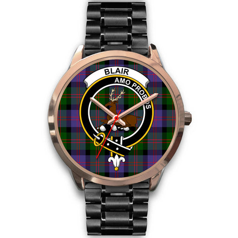 Image of Blair Modern, Rose Gold Metal Mesh Watch,  leather steel watch, tartan watch, tartan watches, clan watch, scotland watch, merry christmas, cyber Monday, halloween, black Friday