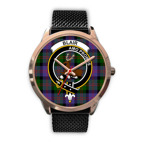 Blair Modern, Silver Metal Link Watch,  leather steel watch, tartan watch, tartan watches, clan watch, scotland watch, merry christmas, cyber Monday, halloween, black Friday