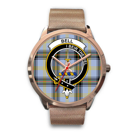 Bell of the Borders, Black Leather Watch,  leather steel watch, tartan watch, tartan watches, clan watch, scotland watch, merry christmas, cyber Monday, halloween, black Friday