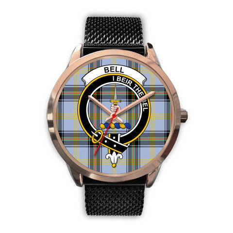 Bell of the Borders, Silver Metal Link Watch,  leather steel watch, tartan watch, tartan watches, clan watch, scotland watch, merry christmas, cyber Monday, halloween, black Friday