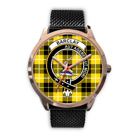 Barclay Dress Modern, Silver Metal Link Watch,  leather steel watch, tartan watch, tartan watches, clan watch, scotland watch, merry christmas, cyber Monday, halloween, black Friday