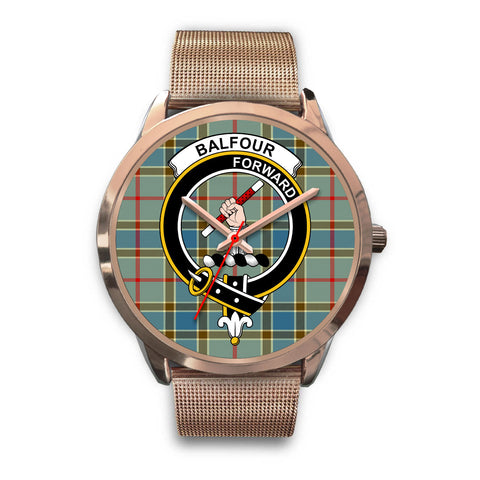 Balfour Blue, Black Leather Watch,  leather steel watch, tartan watch, tartan watches, clan watch, scotland watch, merry christmas, cyber Monday, halloween, black Friday