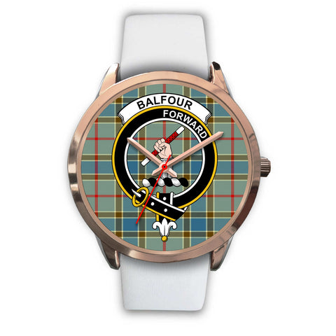 Image of Balfour Blue, Black Metal Link Watch,  leather steel watch, tartan watch, tartan watches, clan watch, scotland watch, merry christmas, cyber Monday, halloween, black Friday