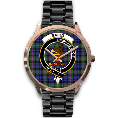 Image of Baird Modern, Rose Gold Metal Mesh Watch,  leather steel watch, tartan watch, tartan watches, clan watch, scotland watch, merry christmas, cyber Monday, halloween, black Friday