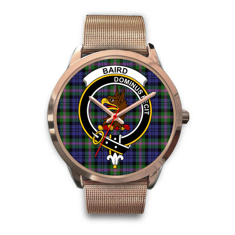 Baird Modern, Black Leather Watch,  leather steel watch, tartan watch, tartan watches, clan watch, scotland watch, merry christmas, cyber Monday, halloween, black Friday