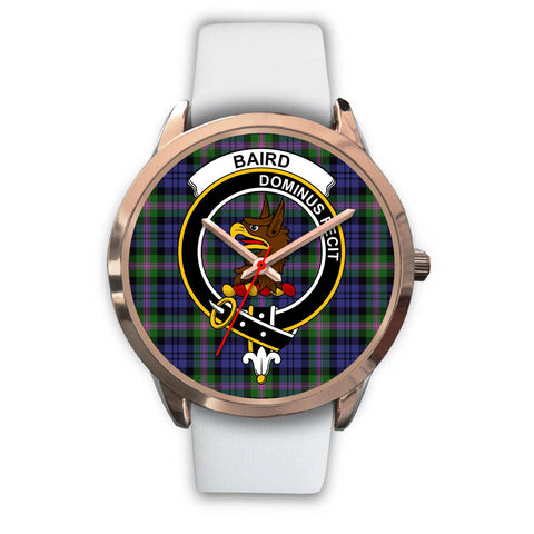 Image of Baird Modern, Black Metal Link Watch,  leather steel watch, tartan watch, tartan watches, clan watch, scotland watch, merry christmas, cyber Monday, halloween, black Friday