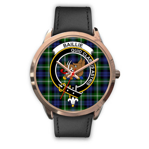 Image of Baillie Modern, Black Metal Mesh Watch,  leather steel watch, tartan watch, tartan watches, clan watch, scotland watch, merry christmas, cyber Monday, halloween, black Friday