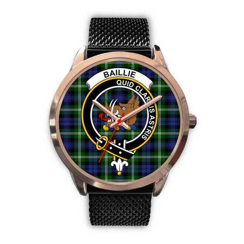 Baillie Modern, Silver Metal Link Watch,  leather steel watch, tartan watch, tartan watches, clan watch, scotland watch, merry christmas, cyber Monday, halloween, black Friday