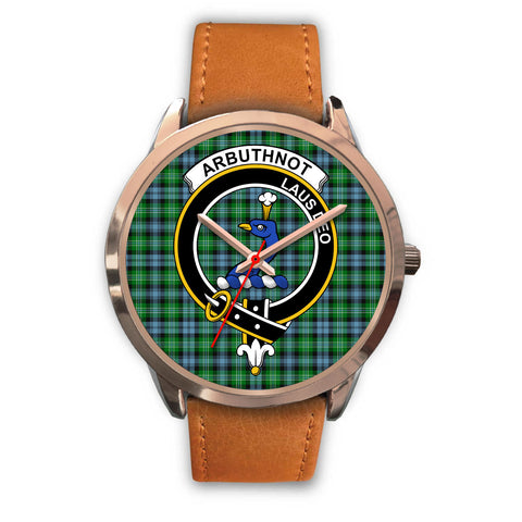 Arbuthnott, Pink Leather Watch,  leather steel watch, tartan watch, tartan watches, clan watch, scotland watch, merry christmas, cyber Monday, halloween, black Friday