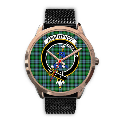 Arbuthnott, Silver Metal Link Watch,  leather steel watch, tartan watch, tartan watches, clan watch, scotland watch, merry christmas, cyber Monday, halloween, black Friday
