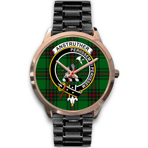 Anstruther, Rose Gold Metal Mesh Watch,  leather steel watch, tartan watch, tartan watches, clan watch, scotland watch, merry christmas, cyber Monday, halloween, black Friday