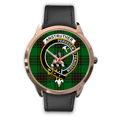 Anstruther, Black Metal Mesh Watch,  leather steel watch, tartan watch, tartan watches, clan watch, scotland watch, merry christmas, cyber Monday, halloween, black Friday