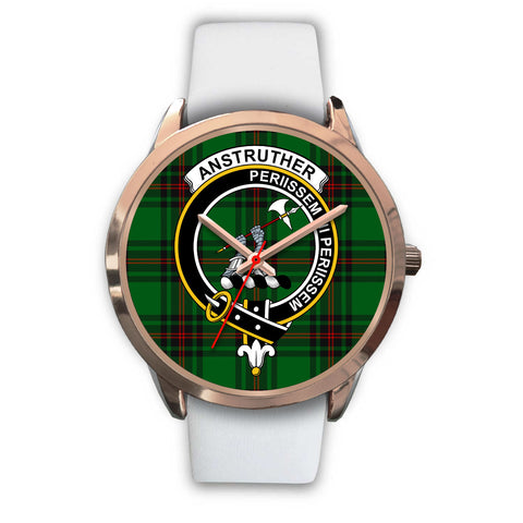 Anstruther, Black Metal Link Watch,  leather steel watch, tartan watch, tartan watches, clan watch, scotland watch, merry christmas, cyber Monday, halloween, black Friday