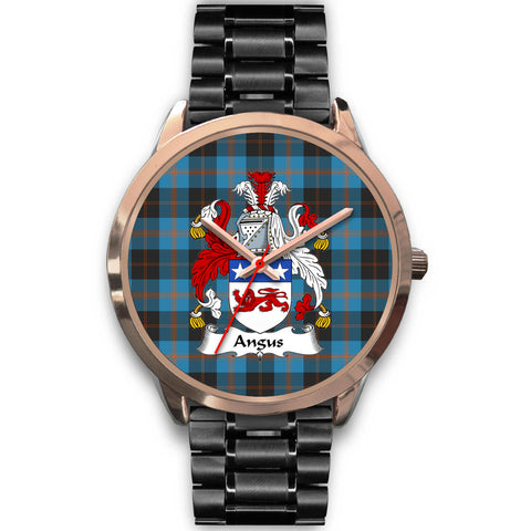 Angus Ancient, Rose Gold Metal Mesh Watch,  leather steel watch, tartan watch, tartan watches, clan watch, scotland watch, merry christmas, cyber Monday, halloween, black Friday