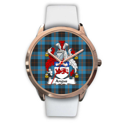 Angus Ancient, Black Metal Link Watch,  leather steel watch, tartan watch, tartan watches, clan watch, scotland watch, merry christmas, cyber Monday, halloween, black Friday