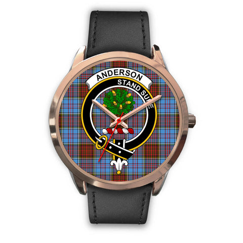 Anderson Modern, Black Metal Mesh Watch,  leather steel watch, tartan watch, tartan watches, clan watch, scotland watch, merry christmas, cyber Monday, halloween, black Friday